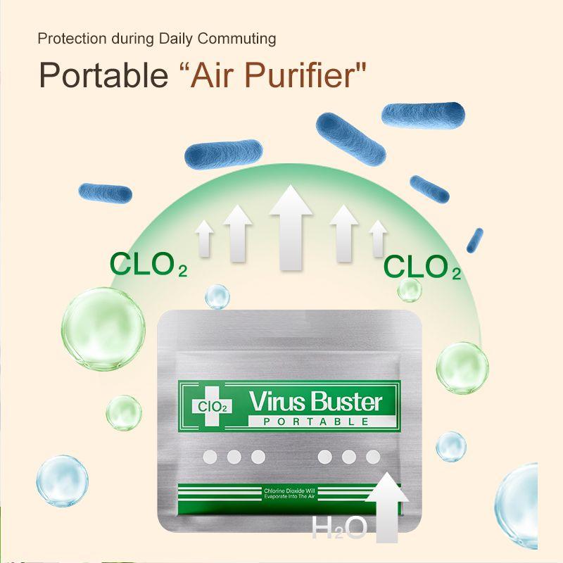 Popular Disinfection Card Portable Air Sterilization Card Blocker disinfection card