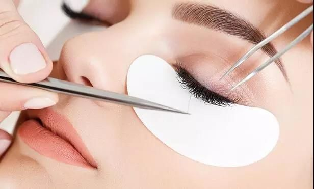 2020 Sain white eyelash extension