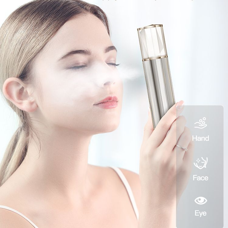 2020 new Intelligent nano water meter Fine mist, deep into the muscles, hydrating without makeup