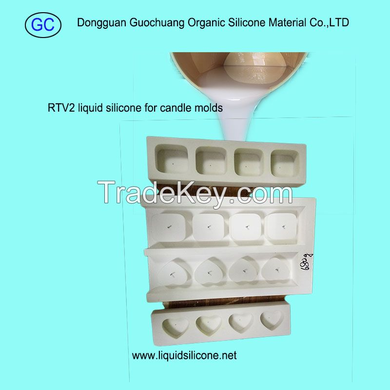 liquid silicone rubber for candle crafts mold making with hardener