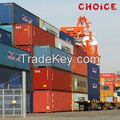 Exports from China to Nigeria, provide sea and air services