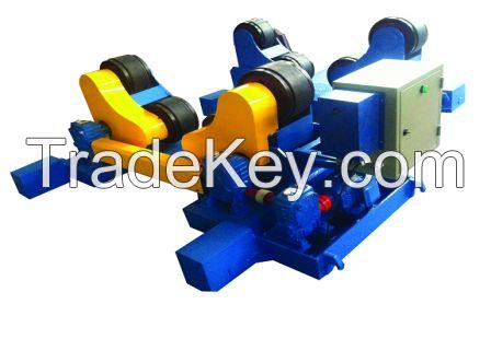 Self-aligned welding rotator