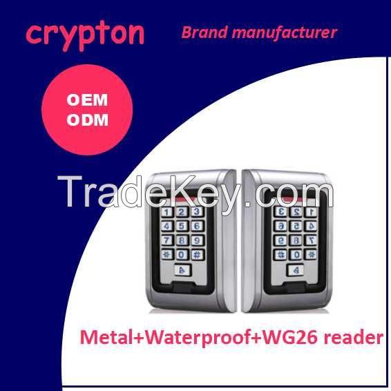 RFID door access control system waterproof SS digital keypads
