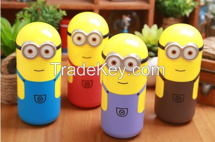 Despicable Me 2 Minions Vacuum Flasks Stainless Steel