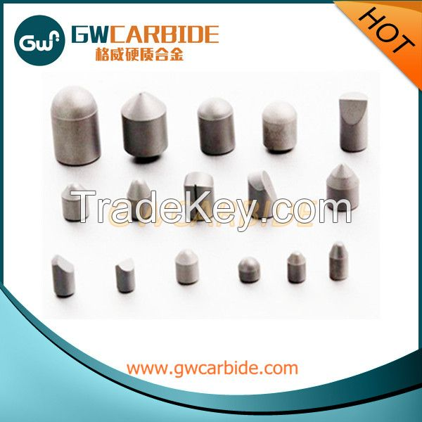 Tungsten Carbide Buttons for Rock Drilling Bits