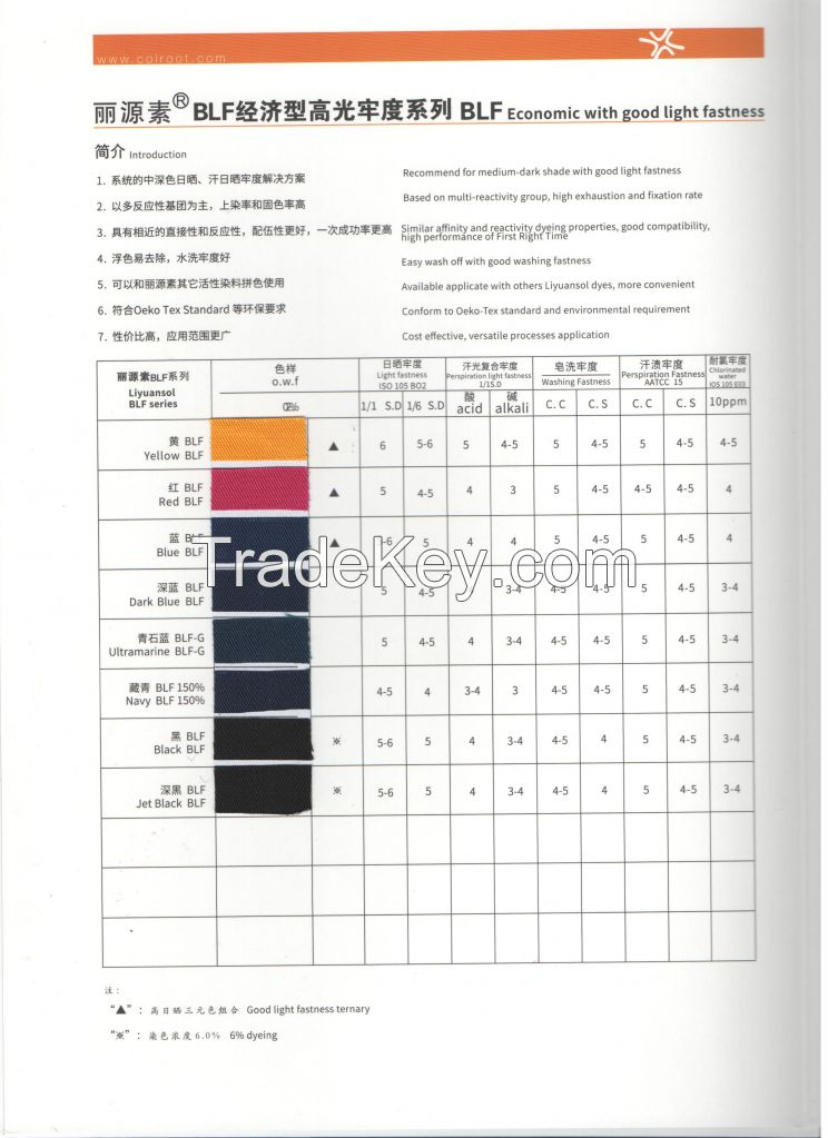 Reactive Dyes Liyuansol Navy Blf with High Quality and Economic Price
