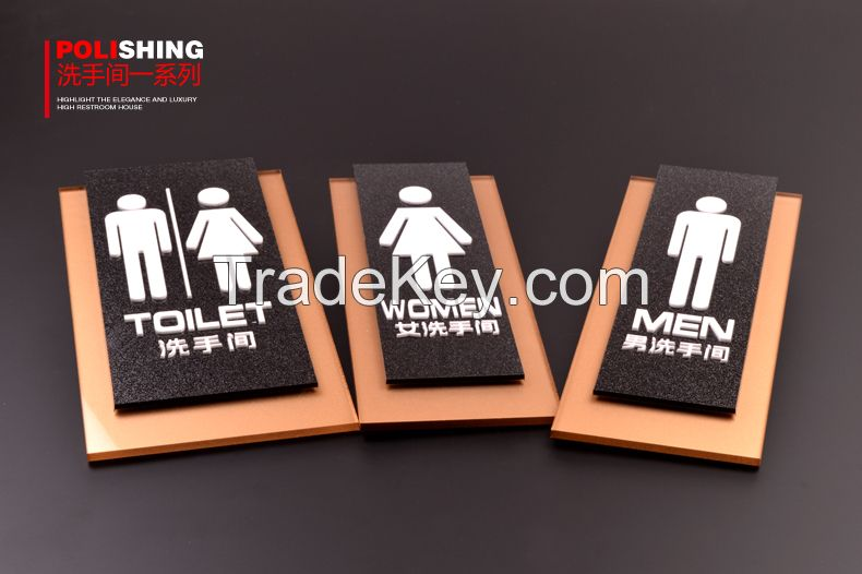 Push and pull door signs, Office signs without LED