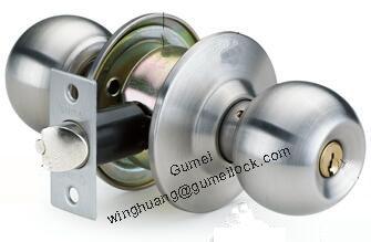 Stainless steel knob lock