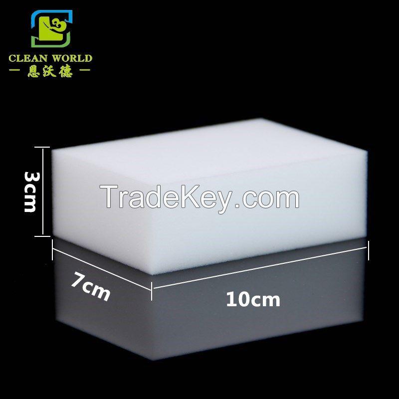 10*7*3cm size compressed magic melamine sponge eraser nano sponge for household cleaning