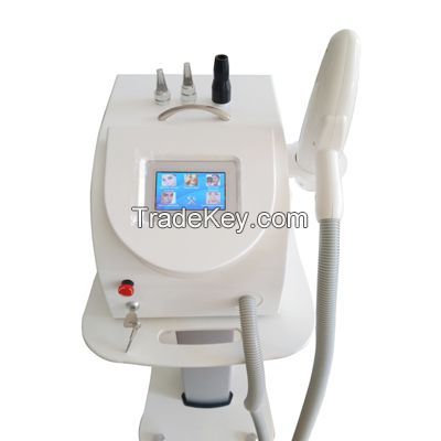 2000 mj Q switched nd yag laser tattoo removal 1064nm/532nm/1320nm