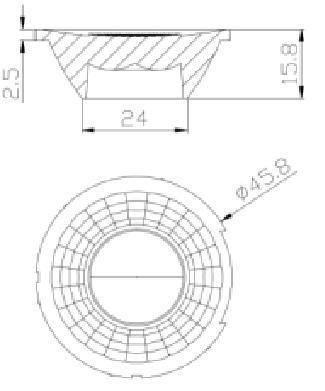 GU10 lens for bluetooth GSH16151