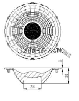 PAR38 CCOB lens for spot lights GSH15213