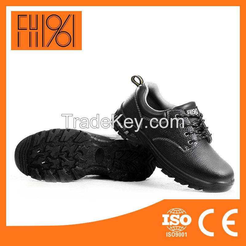 industrial safety shoes/PU cheap safety shoes For Factory/fly k