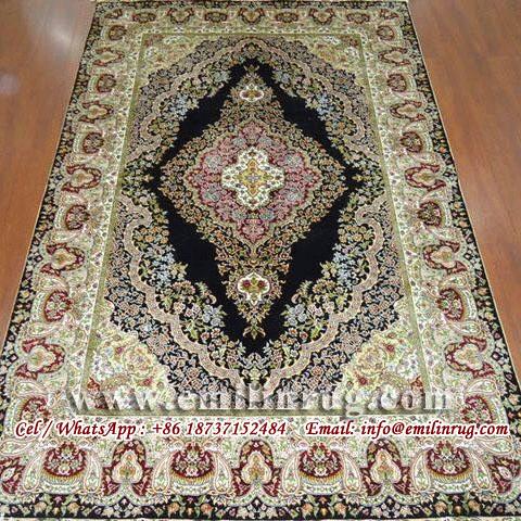 Iranian Silk Rug