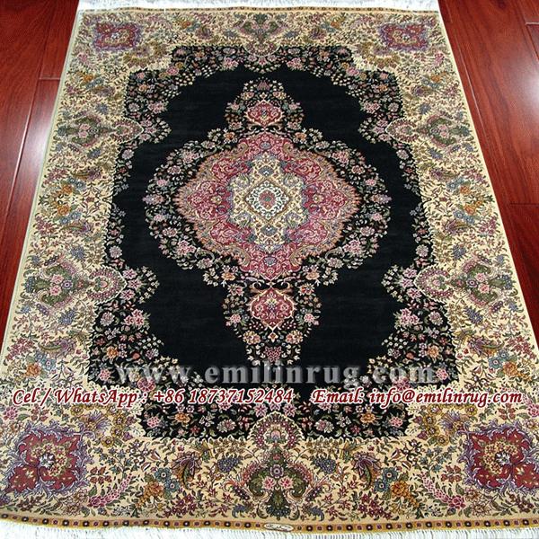 Handmade Artificial Silk Rugs