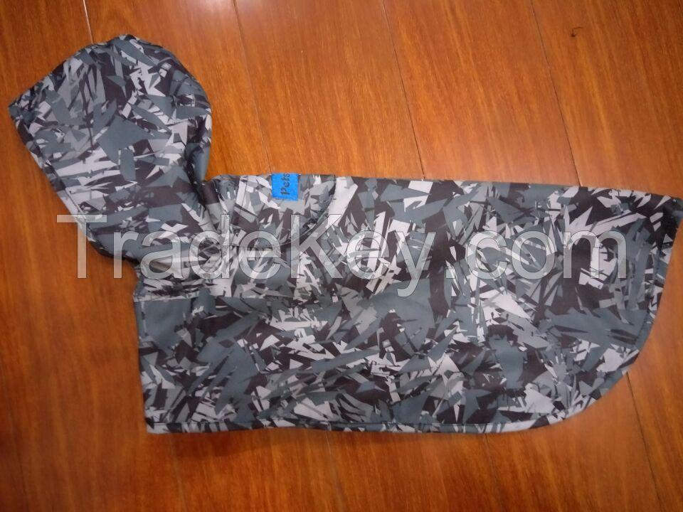 pet apparel, dog apparel, dog rainjacket, dog clothing