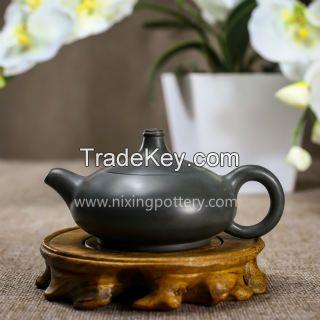 Chinese Qinzhou Nixing Pottery Pure Dust-free Sapphire Handmade Maestro Kungfu Tea Pot 120ml