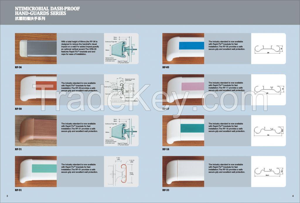Bathroom Accessory Brass Handrail Antislip Safety Grab Bars Stainless Steel handrail