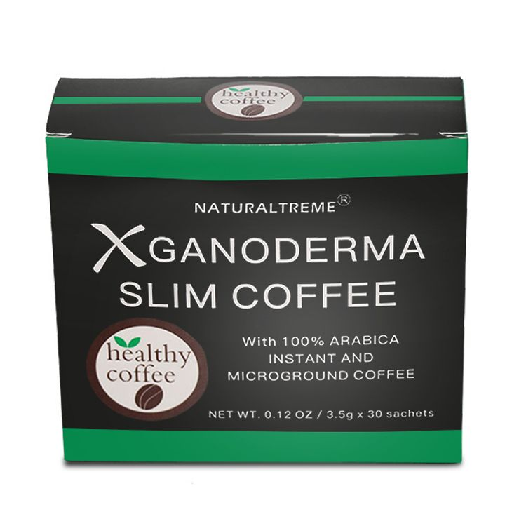 Health Organic Slimming Weight Loss Instant Coffee with Ganoderma