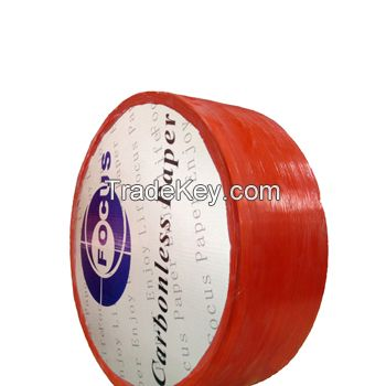 Jumbo roll carbonless paper in reel