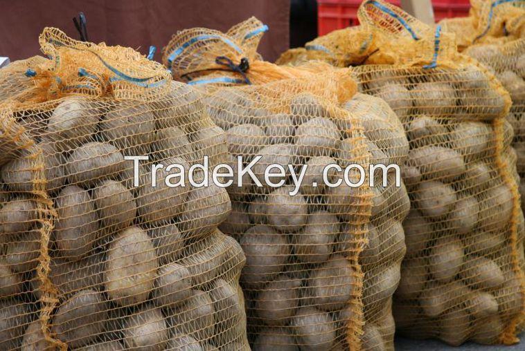 Packing vegetable raschel mesh bag