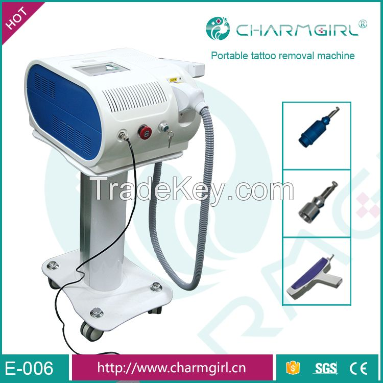 Q switch laser tatoo removal nd yag laser eyebrows age spot removal