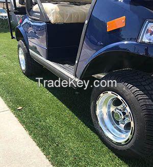 2017 Blue LSV Evolution EV Golf Cart Car Classic 4 Passenger seat street legal