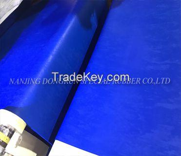 High tearing resistance oil proof fluorine rubber sheet
