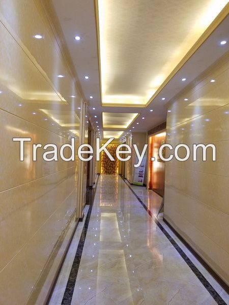 Cement wall tile with Grade-A fireproof application for commercial decoration