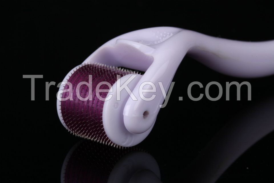 540 Titanium Microneedle Dermaroller Micro Needle Skin Roller 0.2-3mm