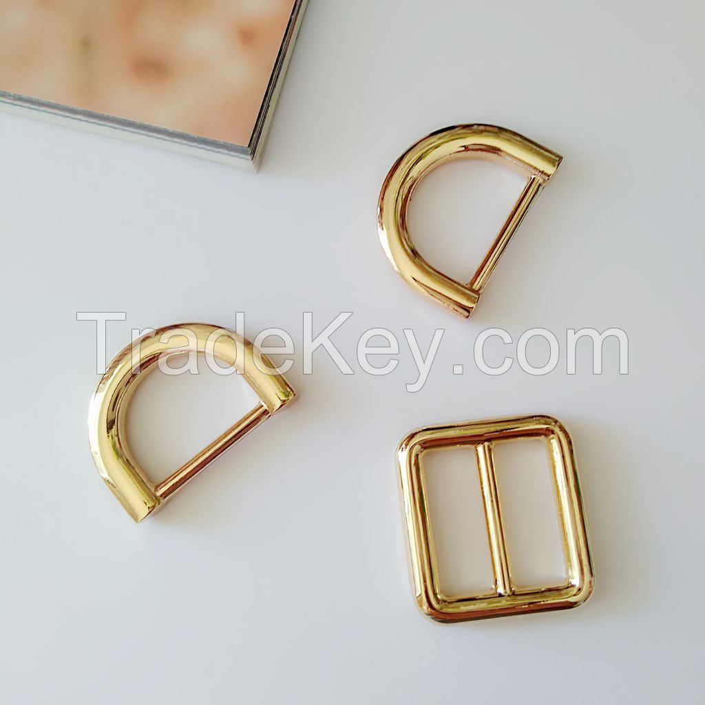 Alloy accessories part for backpack, D rings, Holders, Adjusters
