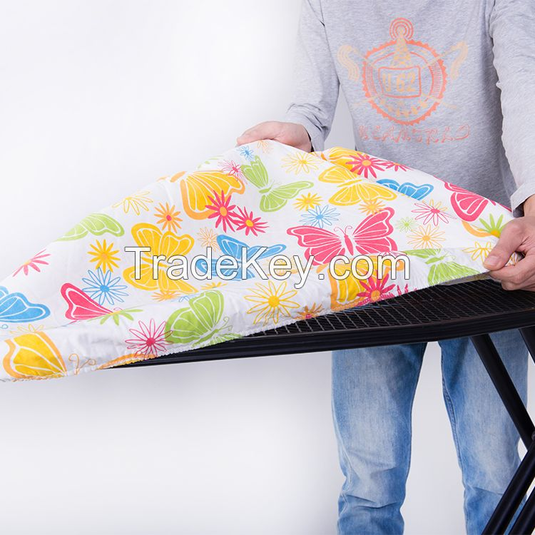 High quality wholesale 100% cotton printed ironing board cover