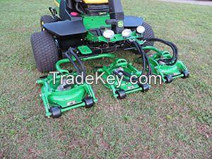 2011 John Deere 8800 Terrain Cut Rough 5 Decks Diesel Rotary Mower 4x4