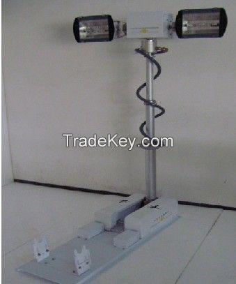 3.2m portable Pneumatic telescopic antenna telecom mast