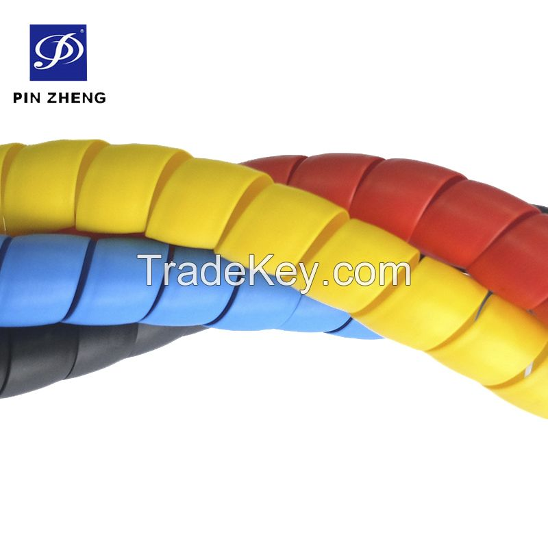 Sample Free PP flexible Spiral Guard Hoses hydraulic sleeve
