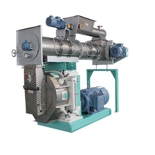 8-12t/h animal feed poultry feed plant chicken pellet feed making line