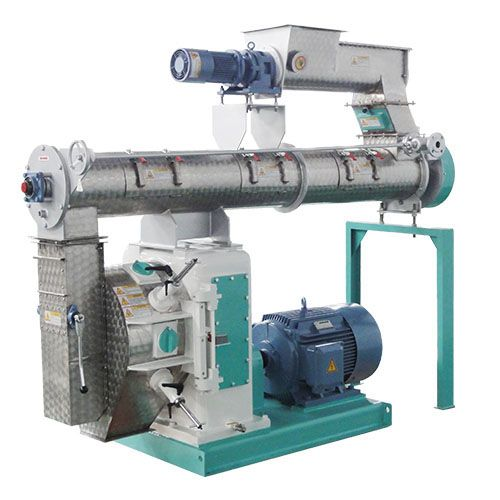 Low operational cost 4-10t/h animal feed machine for making feed pellets