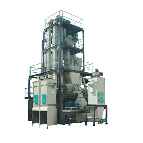5tph manual batching chicken feed line cow pig sheep feed pelleting machine