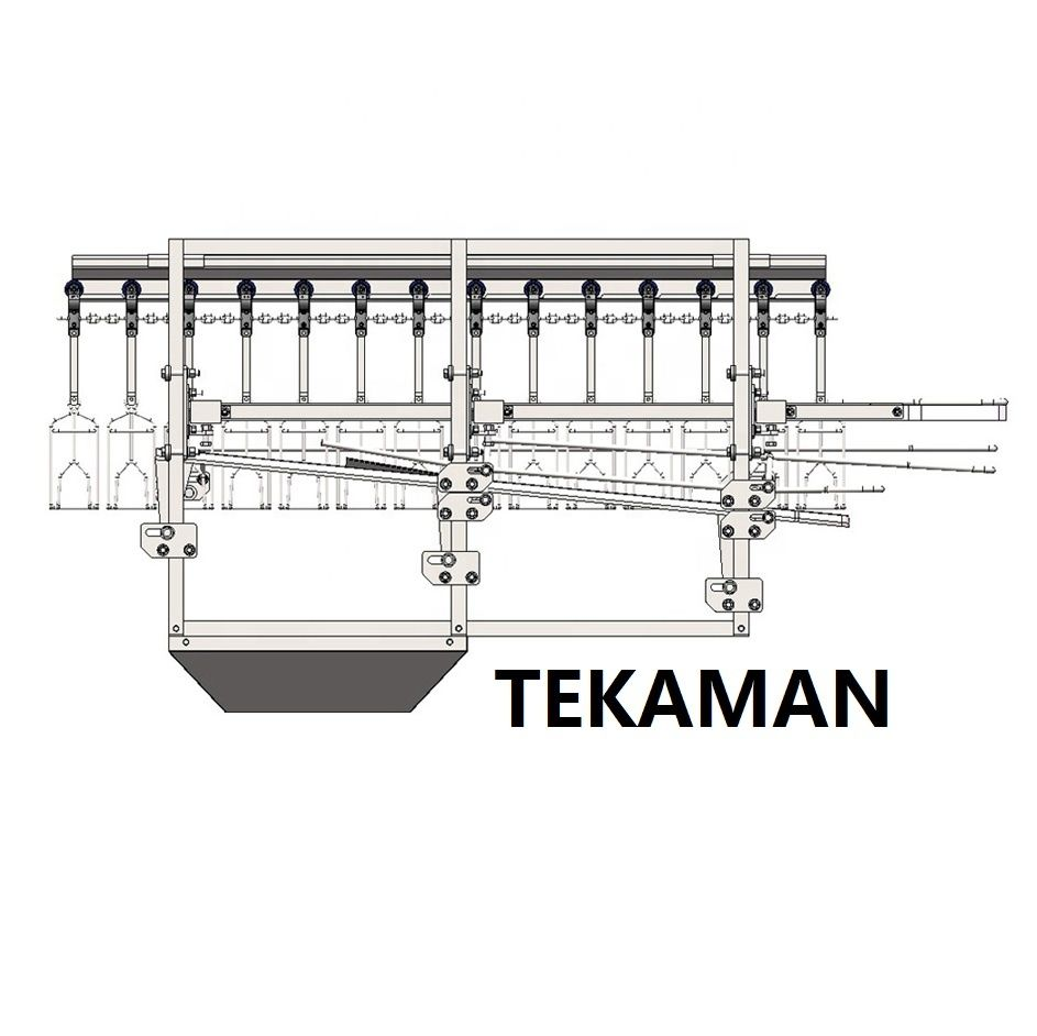 FEET UNLOADER - POULTRY DEFEATHERING - POULTRY PROCESSING EQUIPMENT