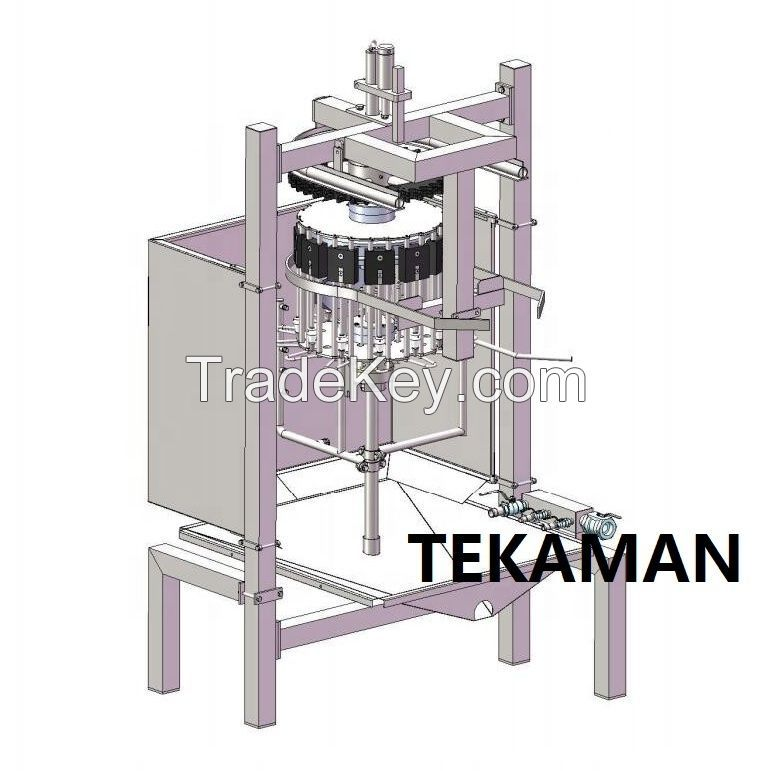 INSIDE AND OUTSIDE WASHER - POULTRY EVISCERATION - POULTRY PROCESSING EQUIPMENT