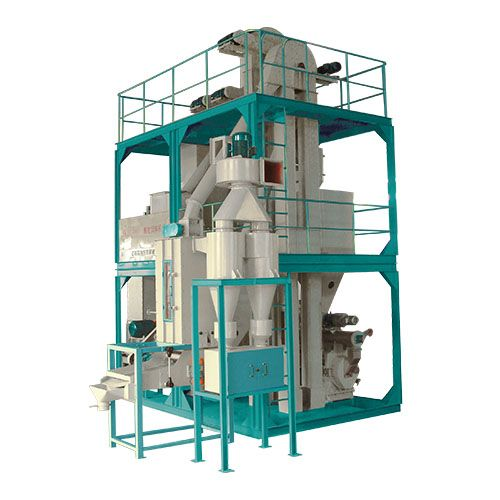 Chicken feed making plant with mash feed chicks crumbled feed producing machinery