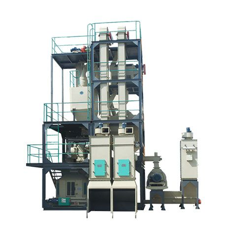 homemade mini small animal feed mill plant production line for sale