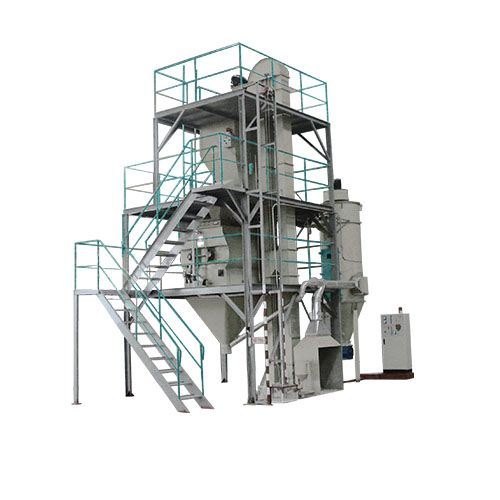 Day old chicken feed making machine crumbling feed poultry feed pellet producing line