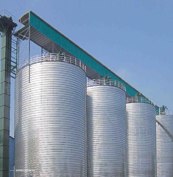 1000tons -5000tons wheat silo storage project China supplier