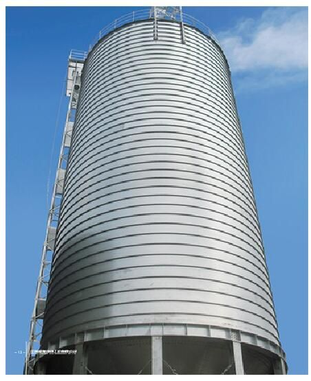 Grain wheat corn Storage Silo for food or feed processing industry