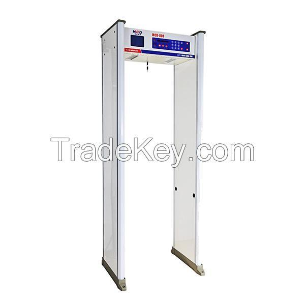 Advanced Big screen security Archway Metal Detector in China/ waterproof door frame metal detector for sale