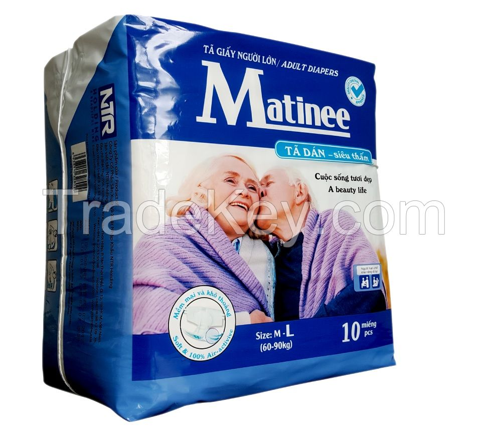 ADULT DIAPERS MATINEE