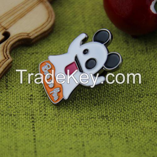 Custom Lapel Pins for Ghost Emoji