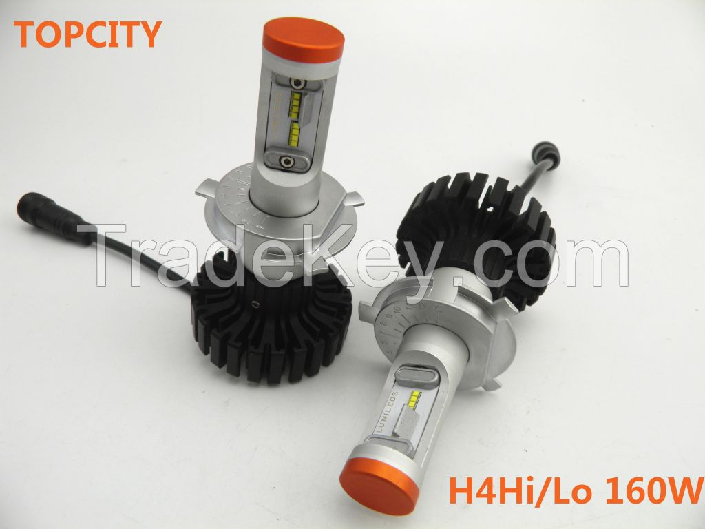 Preferred 160W headlights LED beloved H4160W auto led headlamp