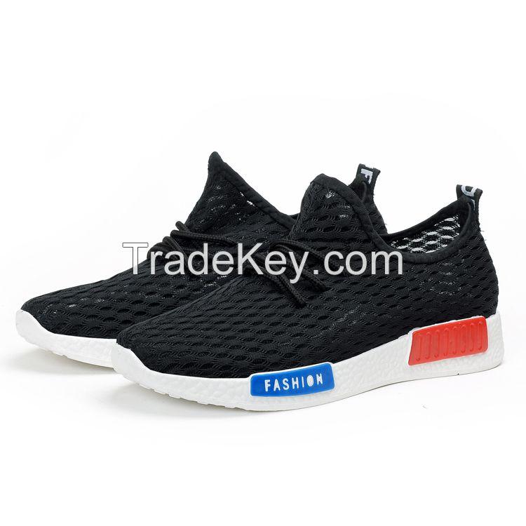 2017 arrive china factory wholesaler women mesh sport shoes